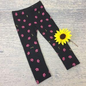 Juicy Couture black crown leggings